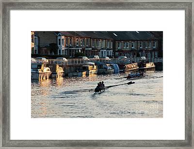 The Riverside Framed Print