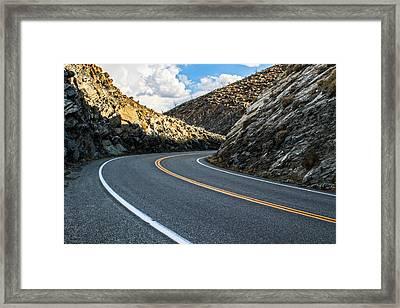 The Road Framed Print