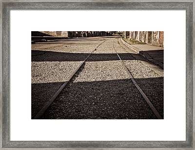 Framed Print featuring the photograph The Road by Cendrine Marrouat