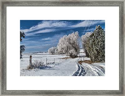 The Road Home Framed Print