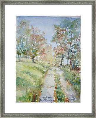 The Road Home Framed Print by Dorothy Herron