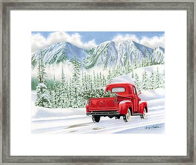 The Road Home Framed Print by Sarah Batalka