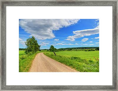 The Road Leads To... Framed Print