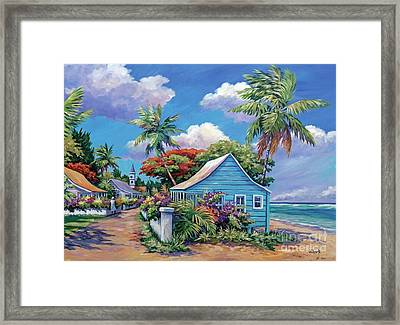 The Road Less Travelled Framed Print by John Clark