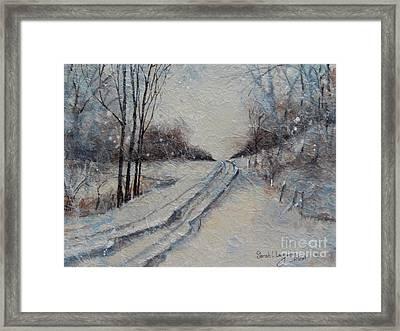 The Road Not Taken Framed Art Prints Fine Art America