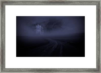 Framed Print featuring the photograph The Road by Robert Geary