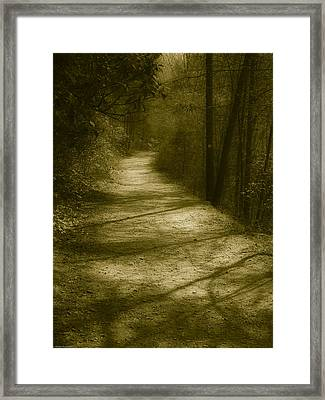 The Road To . . .  Framed Print