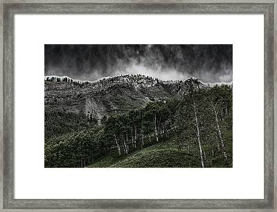 The Road To Blue Rock Framed Print