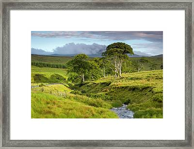 The Road To Carndonagh Framed Print