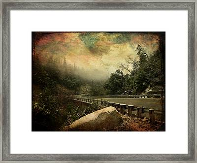 The Road To Everywhere Framed Print