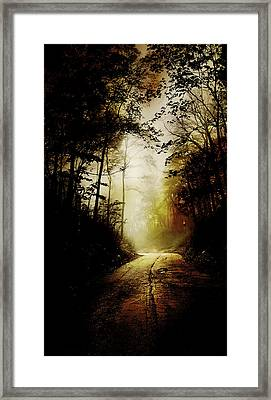 The Road To Hell Take 2 Framed Print