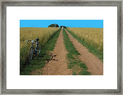 The Road To Home Framed Print