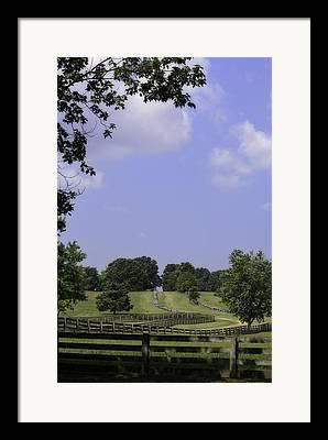 Richmond-lynchburg Stage Road Framed Prints