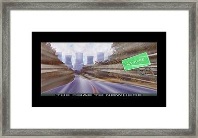 The Road To Nowhere Framed Print by Mike McGlothlen