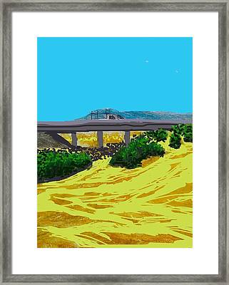 The Road To Rock Picking  Framed Print by Ishy Christine Degyansky