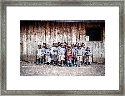 The Road To The Future Framed Print by Francesco Fratto
