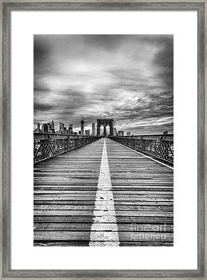 The Road To Tomorrow Framed Print by John Farnan