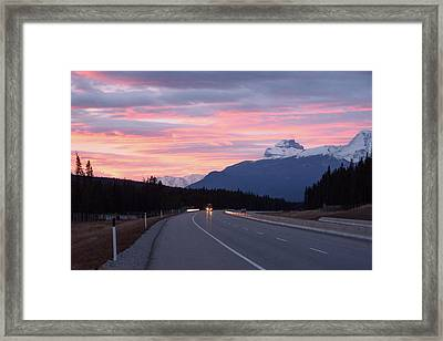 The Road Trip Framed Print