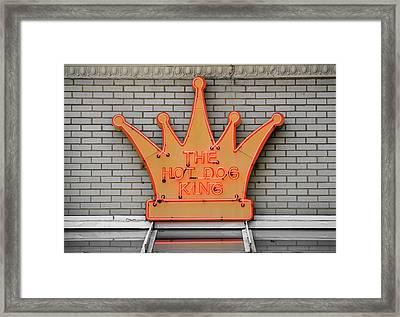 The Roanoke Weiner Stand 1 Framed Print