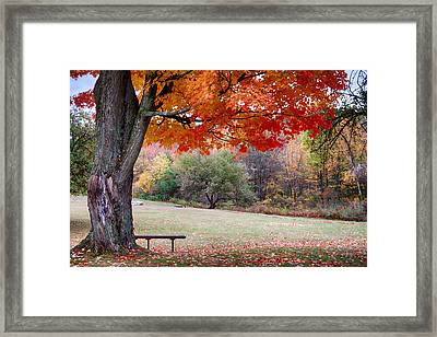 The Robert Frost Farm Framed Print