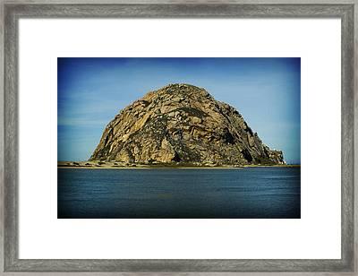 The Rock Framed Print by John Gusky