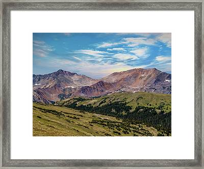 The Rockies Framed Print