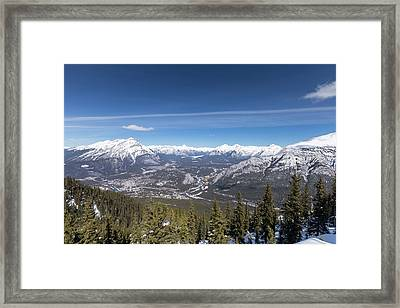 The Rockies Landscape Framed Print