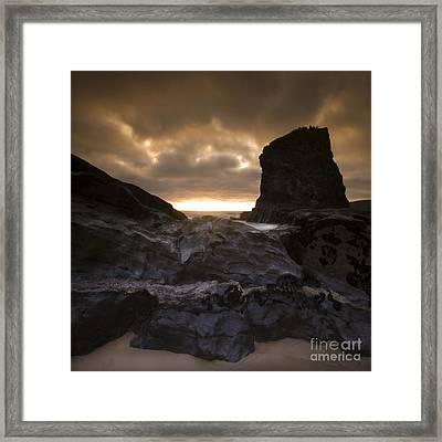 The Rocks Framed Print by Angel  Tarantella