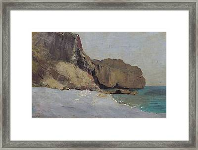 The Rocks At Vallieres Framed Print