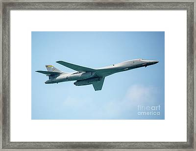 The Rockwell B-1 Lancer Framed Print by Rene Triay Photography