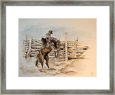 The Rogue Framed Print
