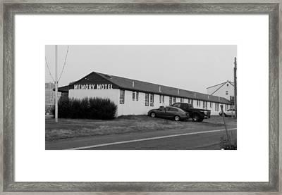 The Rolling Stones' Memory Motel Montauk New York Framed Print
