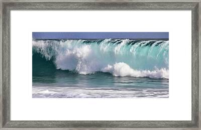 The Rolling Wave Framed Print