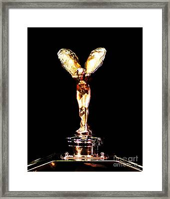 The Rolls Royce 4 Framed Print by Wingsdomain Art and Photography