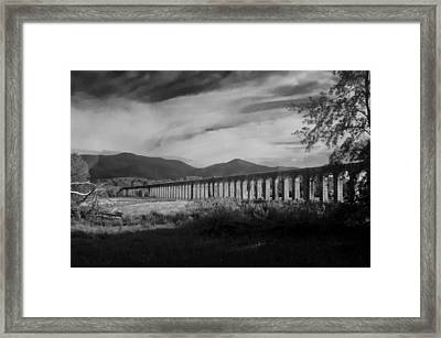 The Roman Aqueducts Framed Print