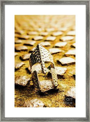 The Roman Pavement Framed Print by Jorgo Photography - Wall Art Gallery