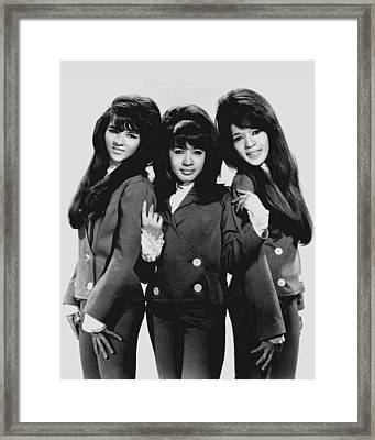 The Ronettes 1966 Framed Print by Mountain Dreams