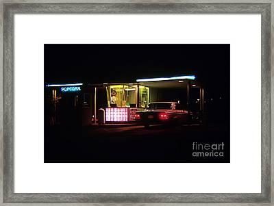 The Roosevelt Drive Inn Framed Print by Corky Willis Atlanta Photography