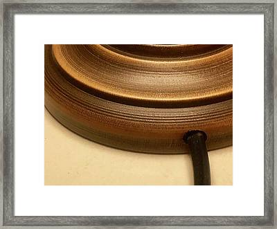 The Rope Framed Print by Contemporary Art