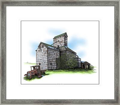 The Ross Elevator Spring Framed Print