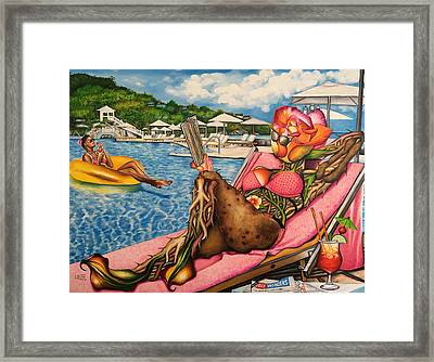 The Rosy Seasons Of Life Framed Print