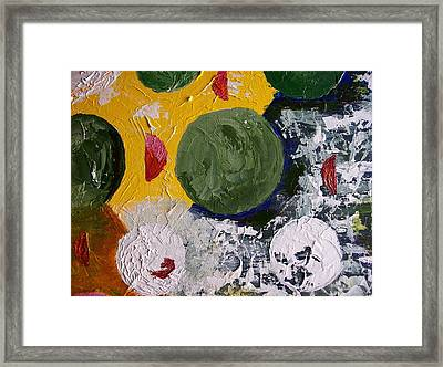 The Rotations Framed Print by Roy Penny