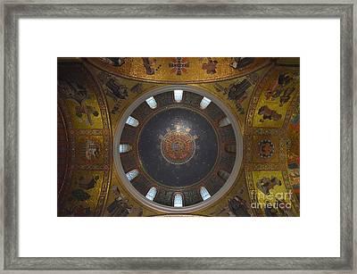 The Rotunda-st Louis Basillica Framed Print