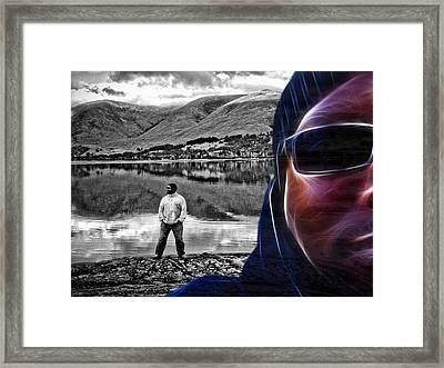 The Rough And The Rugged Framed Print
