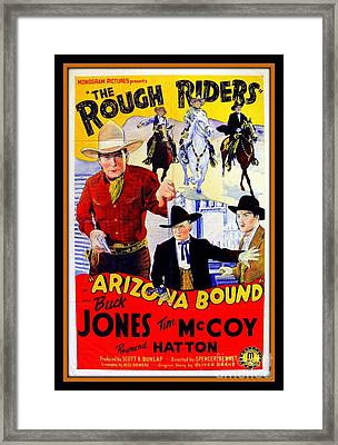 The Rough Riders Framed Print