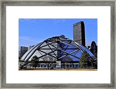 The Round Framed Print by J Henderson