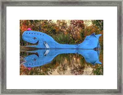 The Route 66 Blue Whale - Catoosa Oklahoma - IIi Framed Print