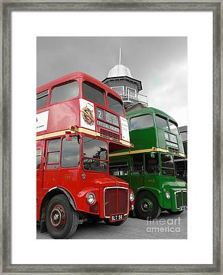 The Routemaster's Framed Print