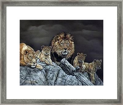 The Royal Family Framed Print