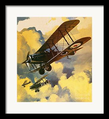Air War Framed Prints